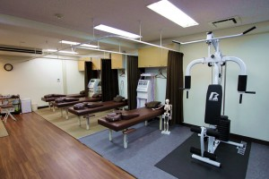 コブサン鍼灸院・接骨院内観④施術スペース