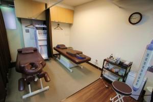 コブサン鍼灸院・接骨院内観⑦施術スペース
